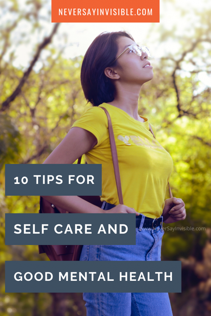 How self care can help you recover from poor mental health. Make small changes to your life to retain this #wellness with #selfcare.  Even those of us #spoonie who are struggling with #anxiety or #depression or any other #chronicillness will benefit from a little #self-care.