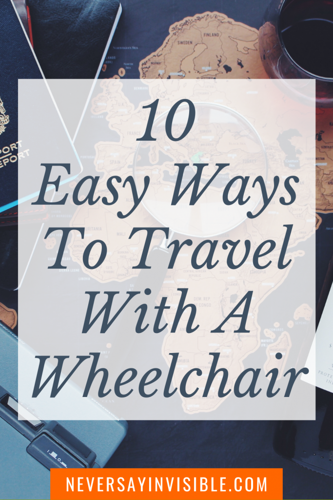 To travel with COVID is not easy. When you have an autoimmune disease like MS, or any chronic illness that needs a wheelchair, you have to plan! Here are 10 easy ways to travel with a wheelchair. #MS #MSdiagnosis #multiplesclerosis #multiplesclerosis #autoimmunedisease #chronicillnesssymptoms #mssymptoms