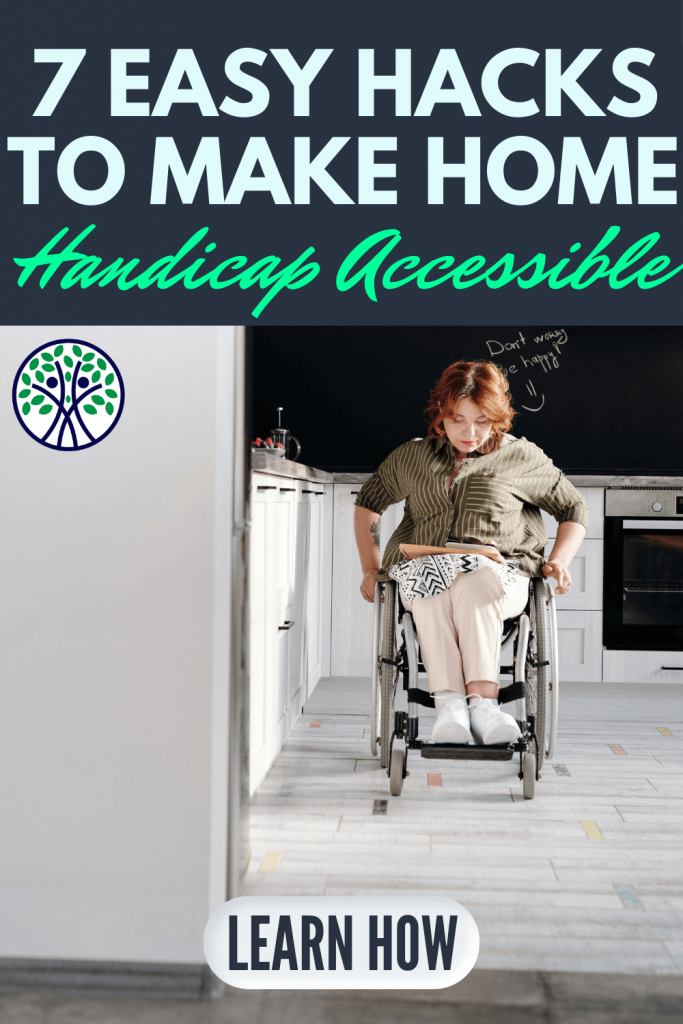 Get 7 easy #hacks for a happy home with a #disability. Add these clever tricks, #tips, and #self-care ideas to make your house more disability-friendly. | Never Say Invisible