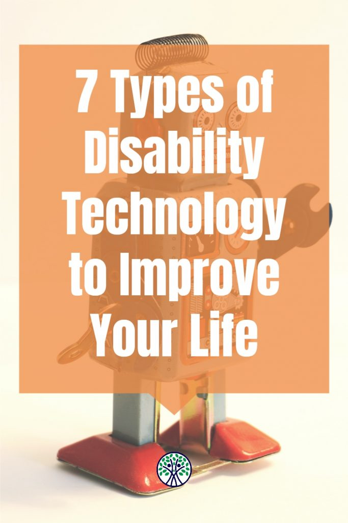 Disability technology is a great complement to handicap accessible home modifications. Living with ALS has led me to use these things to make life easier.
